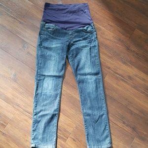 Pinkblush Maternity full panel jeans 31 x 30